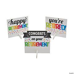 Retirement Centerpieces