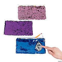 Reversible Sequin Pencil Cases