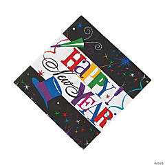 Ring in the New Year Luncheon Napkins