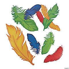 Rio Mosaic Feather Cutouts