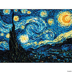 Riolis Counted Cross Stitch Kit - Starry Night