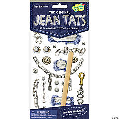 Rips & Chains Jean Tats Pack