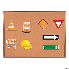 Road Construction Bulletin Board Cutouts