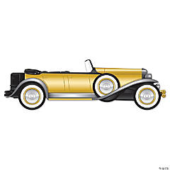 Roaring 20s Jointed Roadster Car Sign