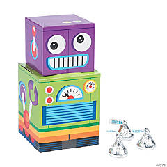 Robot Party Favor Boxes