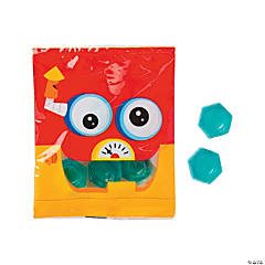 Robot Party Gummy Candy Fun Packs