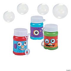Robot Party Mini Bubble Bottles - 24 Pc.
