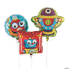 Robot Party Mylar Balloons