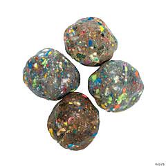 Rock-Shaped Bouncy Balls