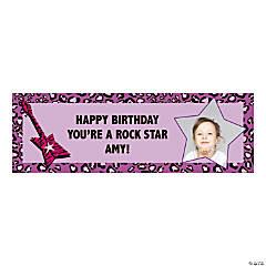 Rock Star Diva Custom Photo Banners