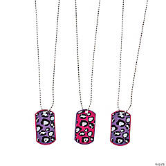 Rock Star Diva Dog Tag Necklaces