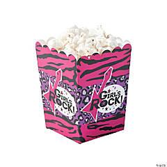 Rock Star Diva Popcorn Boxes