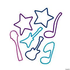 Rock Star Glitter Silicone Bracelets
