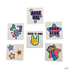 Rock Star Glitter Tattoos