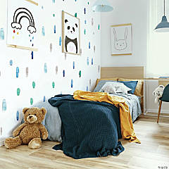 Roommates Cool Watercolor Swatch Peel And Stick Wall Decals