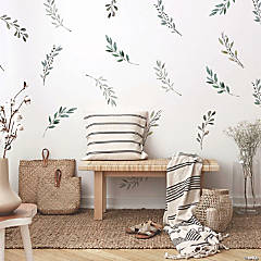 Roommates Country Leaves Peel And Stick Wall Decals