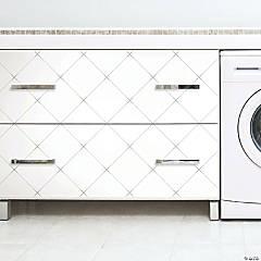 Roommates Diamond Tile Geo Peel & Stick Wallpaper - Grey
