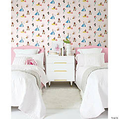 Roommates Disney Princess Power Peel & Stick Wallpaper - Pink/Blue