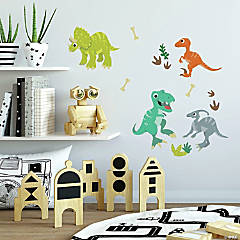RoomMates Friendly Dinosaur Peel and Stick Wall Decals