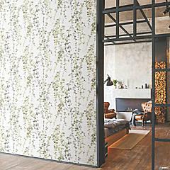 Roommates Hanging Watercolor Vines Peel & Stick Wallpaper - Taupe
