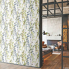 Roommates Hanging Watercolor Vines Peel & Stick Wallpaper - Yellow