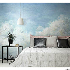 Roommates In The Clouds Peel & Stick Wallpaper Mural
