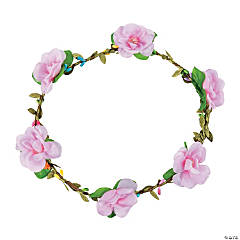 Rose Floral Crown Headbands