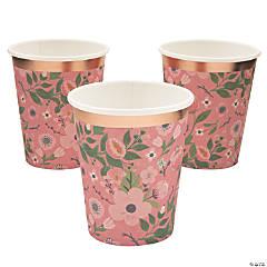 Rose Gold Bridal Shower Cups