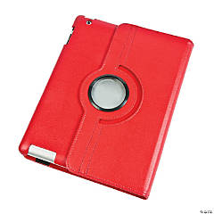 Rotating Red iPad® Case for Generations 3 & 4