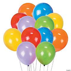round 9 latex balloons