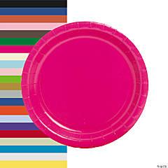 Round Paper Dinner Plates - 24 Ct.