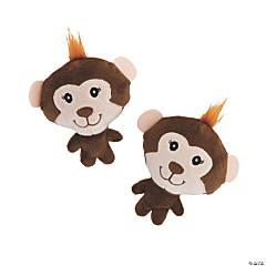 Round Stuffed Monkeys