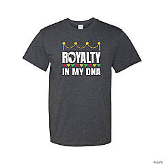 Royalty Inside My DNA Adult's T-Shirt