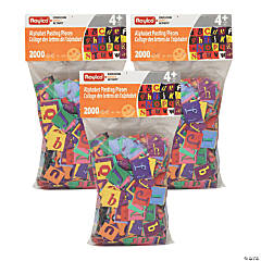 Roylco® Alphabet Pasting Pieces, 6000 pieces