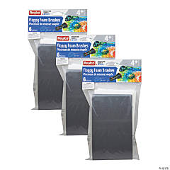 Roylco® Funny Floppy Foam Brushes, 18 count