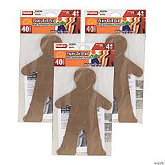 Roylco® Paper Doll Pads, 40 Sheets Per Pad, 3 Pads
