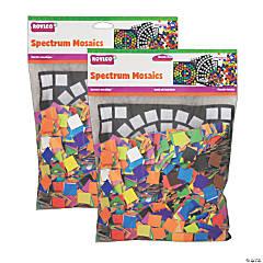 Roylco® Spectrum Mosaics, 8000 pieces