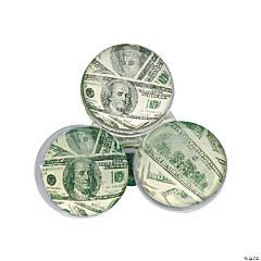 Rubber $100 Bill Bouncing Balls