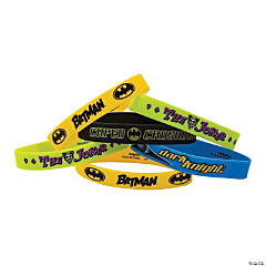 Rubber Batman Bracelets