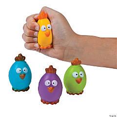 Rubber Chick Egg Stress Balls