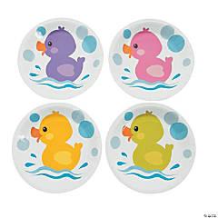Rubber Ducky Dessert Plates