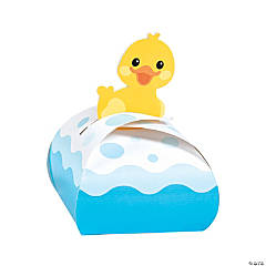 Rubber Ducky Favor Boxes