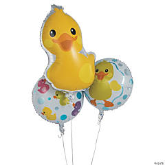 Rubber Ducky Mylar Balloons