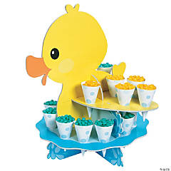 Rubber Ducky Treat Stand with Cones