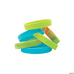 Rubber Earth Day Recycle Bracelets