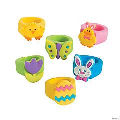 Rubber Easter Rings