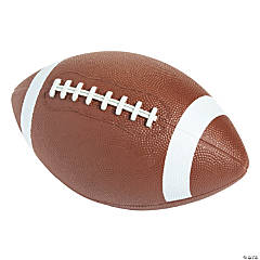 Rubber Football- 6 pc
