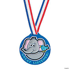 Rubber Great Listener Award Medals