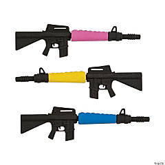 Rubber Gun Erasers