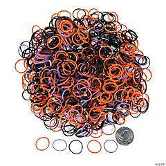 Rubber Halloween Fun Loops Assortment Refill